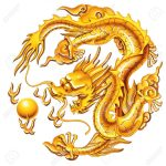 19556641-nice-golden-dragon-on-the-white-background-Stock-Photo